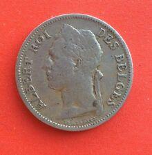 Congo Belge  - Albert Ier - très jolie monnaie de 50 Centimes 1929 Fr plus rare