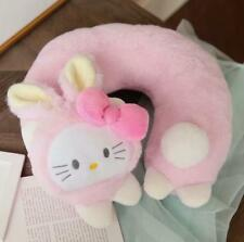 Hello Kitty Bunny Soft Plush Neck Rest Car Airplane Office Travel U-type Pillow