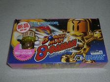 NEW IN BOX SEALED SUPER FAMICOM GAME BOMBERMAN B-DAMAN FIGURE JAPAN IMPORT RARE