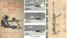Boys .55 Anti-Tank Rifle MK1 1943 Manual (UK)