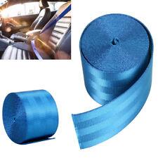 Car 3.6M Seat Belt Webbing Polyester Seat Lap Retractable Nylon Safety Strap