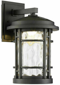 """Glass For Altair 9"""" Led Outdoor Wall Lantern AL2167  Only the Glass"""