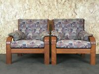 2x 60er 70er Jahre Teak Sessel Easy Chair Olsen & Laursen Danish Design Denmark