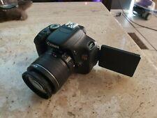 Canon EOS Rebel T3i 18.0MP Digital SLR Camera -battery-charger- efs 18-55mm lens