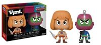 "MASTERS OF THE UNIVERSE HE-MAN & TRAP-JAW 2-PACK VYNL 3.75""  VINYL FIGURE FUNKO"