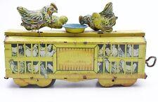 Ferdinand Strauss Toys TravelChiks New York USA Tin Litho Windup Toy Train