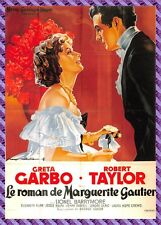 Postcard Poster of Movie - the Novel Marguerite Gautier