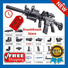M416 ELECTRIC GEL BLASTER TOY GUN WATER CRYSTAL Kids Toy Gift + toy BULLETS