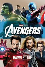 The Avengers 2012 (DVD) With Slipcase