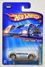 HOT WHEELS 2005 DODGE SUPER 8 HEMI DROP TOPS 10/10 #030 SILVER FACTORY SEALED