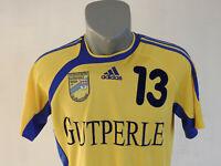 TV Turnverein Germania Jersey Adidas Yellow Size S Handball Shirt #13 Germany