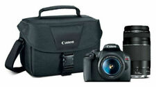 Canon - EOS Rebel T7 DSLR Video Two Lens Kit with EF-S 18-55mm and EF 75-300mm L