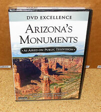 ARIZONA'S MONUMENTS As Aired On Public Television (DVD, 2012) SEALED
