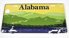 USA Alabama Auto Nummernschild License Plate Deko Blechschild Berge See