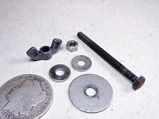 86 KTM 350 MXC AIR FILTER CLEANER ELEMENT MOUNTING BOLT NUT WINGNUT & WASHERS