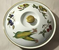 ROYAL WORCESTER EVESHAM CASSEROLE BOWL WITH LID STYLE 22 SIZE 1
