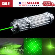 Green Laser Pointer Pen 650nm 1mW Burning High Power Beam Light USA