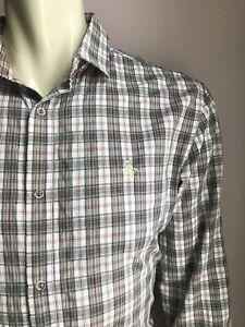Penguin Western Shirt, Cheyenne Plaid, Large, Excellent Condition