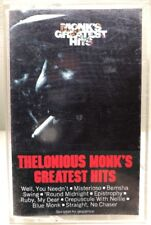 Thelonious Monk Monk's Greatest Hits Cassette Tape PCT 9775