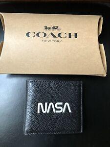 Men's Coach Nasa Wallet. New.