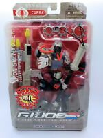 2007 Hasbro GI Joe Sigma 6 Iron Grenadier Cobra Infantry New In Box!