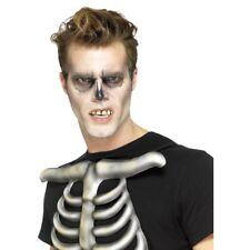 Esqueleto Dientes Falsos Hombre Mujer Halloween Accesorio de disfraz