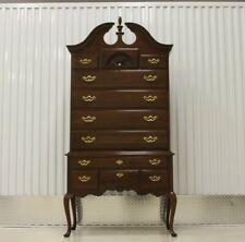 Thomasville Queen Anne Style Chippendale Highboy Dresser
