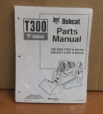 Bobcat T300 Parts Manual Book Skid Steer Loader 6904246 New