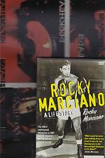 Rocky Marciano - A Life Story (DVD, 2004)<<< BIO BOXING>>>