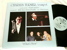 CHARLES TURNER What's New FRANK SINATRA Paul Smith Irv Cottler LP