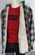 Levis  Flannel Fleece Lined Shirt /Jacket   Brown  (M) Levi's
