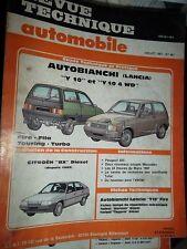 Lancia AUTOBIANCHI Y10-Y10 4 WD : revue tech RTA 481