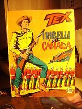 TEX  I ribelli del Canada     TEX  n. 204   del  1977