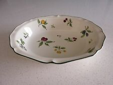 NORITAKE FRUIT PARFAIT OVAL SERVING BOWL