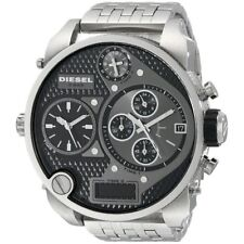 Zone Chrono Ana-Digi Stainless Steel Watch Diesel Men's Dz7221 Mr Daddy Dual