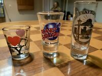 Shot Glasses 1-Seattle, 1-San Francisco & 1-NY