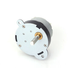 12V DC 40GB 3RPM 70mA 40MM Repalcement Torque Gear Motor Iron New