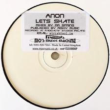 "ANON - Let's Skate (12"") (Promo) (VG/NM)"
