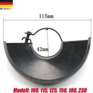 Neu Winkelschleifer Abdeckhaube Schutzhaube Funkenschutz 100 115 125 150 180 230
