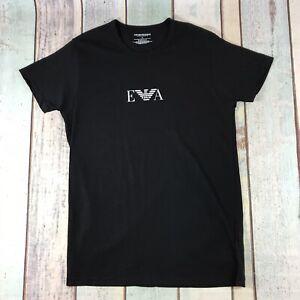 Emporio Armani Black Slim Fit Men's T Shirt Size M Medium