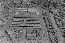 MELBOURNE Queen Victoria Markets Aerial 1939 modern digital photo Postcard