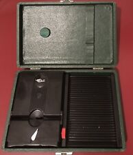 Stereo Realist Slide & Viewer Carrying Case and Stereo Realist Slide Viewer