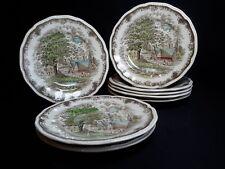 Kensington Staffords Shakespeare's Sonnets Set of 8 Salad Plates