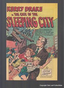 Kerry Drake Sleeping City High Grade Harvey Giveaway Comic 1951 NM