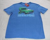 Holden Mens HX Sandman Panelvan Blue Printed Short Sleeve T Shirt Size L New