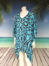Kimono Sleeve Geometric Tops & Blouses for Women