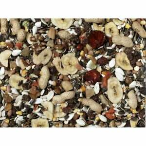 Premium Parrot Fruit 1.9kg Mix For Greys, Amazon's, Macaws And Cockatoos.