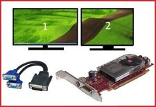 Dell Dimension 4700 5150 8400 9100 9150 9200 E510 E520 E521 Video Card +Dual VGA