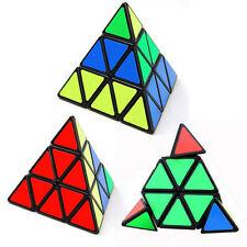 Pyramid Pyraminx Magic Cube Triangle Puzzle Speed Rubik's Twist Intelligence Toy