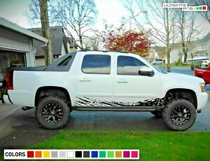 Side Mud stripe Splash for Chevrolet Avalanche GMT900 GMT805 GMT800 Z71 LS LTZ